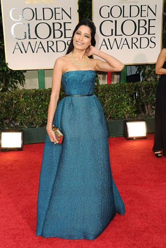 golden globe red carpet 2012