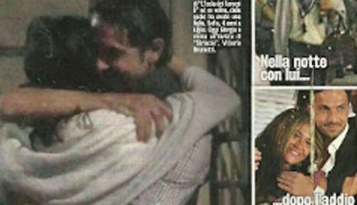 Davide Bombardini si consola con Camila Sant'Ana!