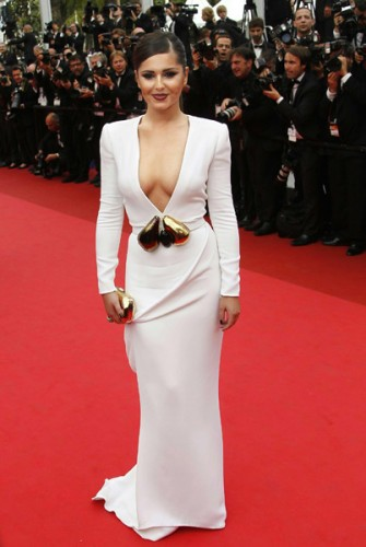 cannes red carpet 2011 cheryl cole