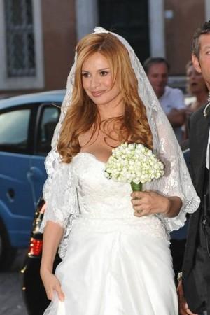 Debora Caprioglio: foto delle nozze!!!